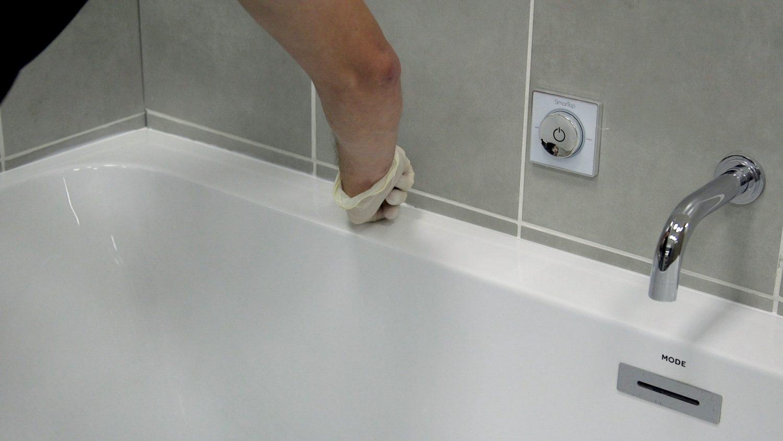De Badkamer Afwerken Met Siliconenkit Kopenenklussen Nl