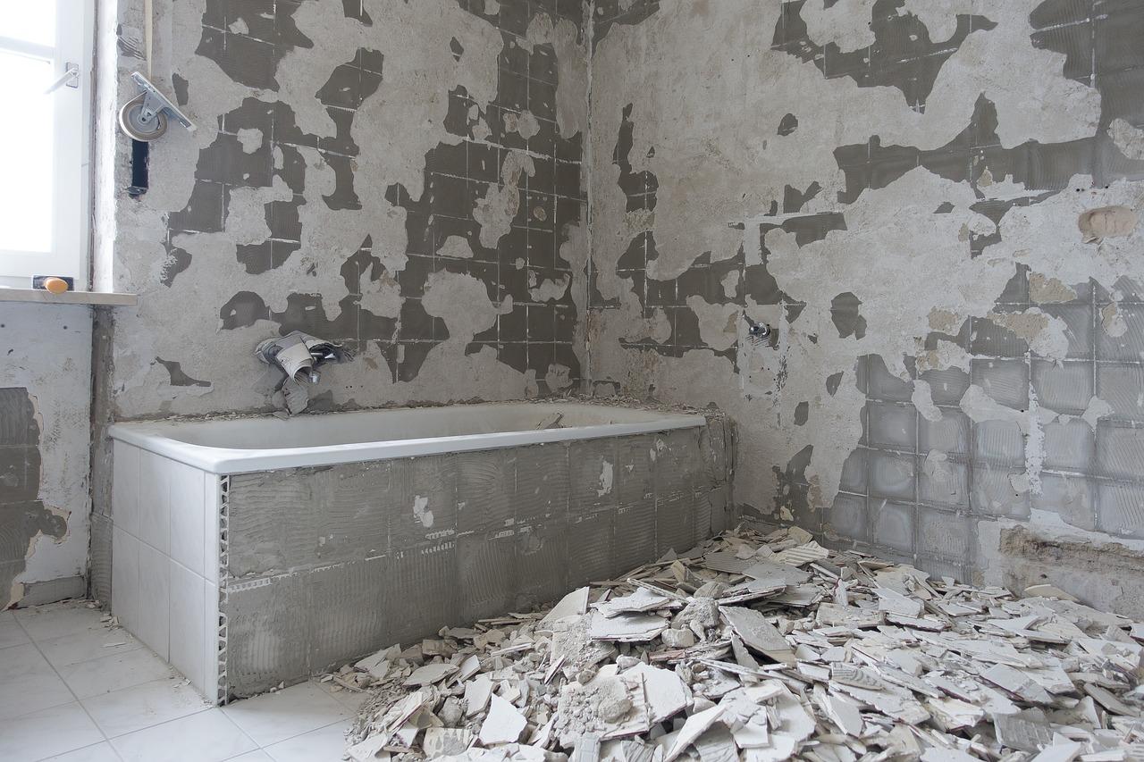 Nieuwe Muur In De Badkamer Plaatsen Kopenenklussen Nl